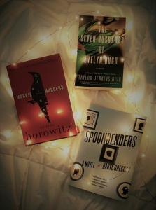 Three books from the fall Novel Editions boxes.