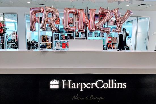 Harper Collins Canada Frenzy Presents Spring 2019