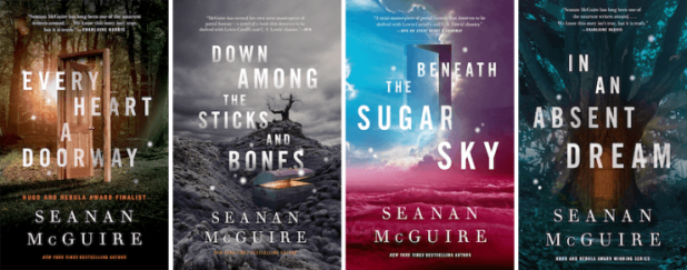 Wayward Children series book covers