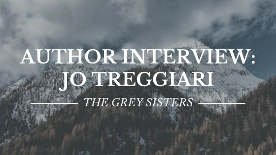 Author Interview: Jo Treggiari