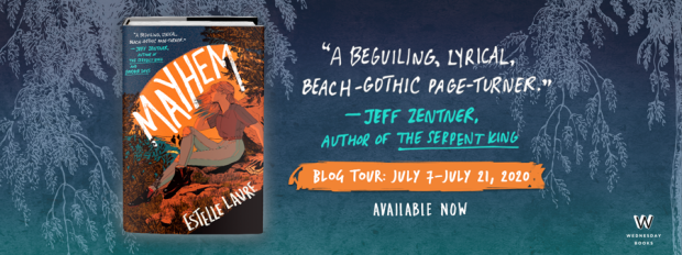 Mayhem Blog Tour Banner