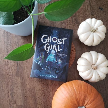 A copy of Ghost Girl by Ally Malinenko